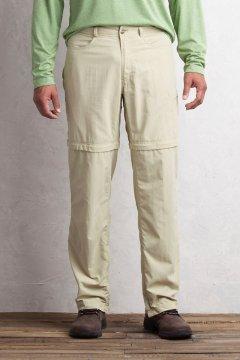 BugsAway Sol Cool Ampario Convertible Pant - Short, Lt Khaki, medium