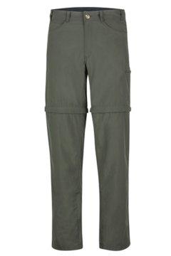 BugsAway Sol Cool Ampario Convertible Pants - Short, Nori, medium