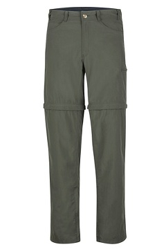 BugsAway Sol Cool Ampario Convertible Pants - Short, Nori, medium
