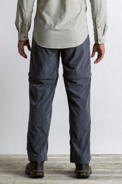 BugsAway Sol Cool Ampario Convertible Pant - Short, Carbon, medium