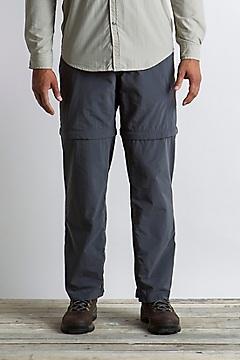Men's BugsAway Sol Cool Ampario Convertible Pants - Short, Carbon, medium