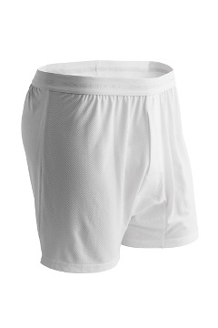 Give-N-Go Boxer, White, medium