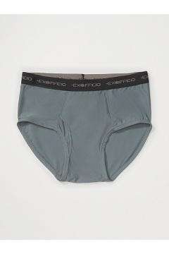 Men's Give-N-Go Brief, Charcoal, medium