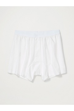 Men's Give-N-Go Boxer, White, medium