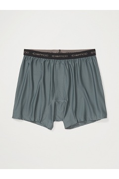 Men's Give-N-Go Boxer, Charcoal, medium