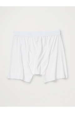 Men's Give-N-Go Boxer Brief, White, medium
