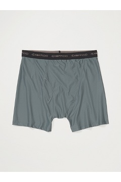Men's Give-N-Go Boxer Brief, Charcoal, medium