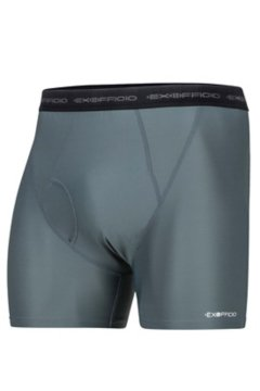 Give-N-Go Boxer Brief, Charcoal, medium