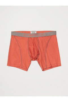 Men's Give-N-Go Sport Mesh 6'' Boxer Brief, Retro Red/Slate, medium