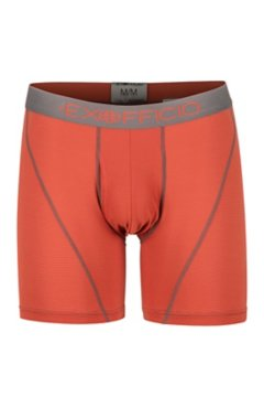 Give-N-Go Sport Mesh 6'' Boxer Brief, Retro Red/Slate, medium
