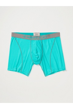 Men's Give-N-Go Sport Mesh 6'' Boxer Brief, Deep Jade/Slate, medium