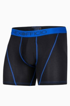 Give-N-Go Sport Mesh 6'' Boxer Brief, Black/Royal, medium