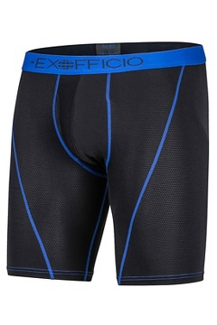 Give-N-Go Sport Mesh 9'' Boxer Brief, Black/Royal, medium
