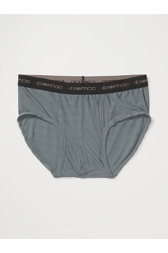 Men's Give-N-Go Flyless Brief, Charcoal, medium