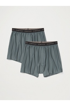 Men's Give-N-Go Boxer 2-Pack, Charcoal, medium