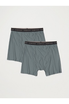 Men's Give-N-Go Boxer Brief 2-Pack, Charcoal, medium