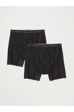 Men's Give-N-Go Boxer Brief 2-Pack, Black, medium