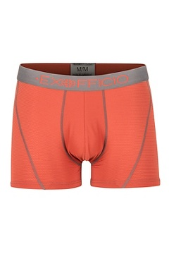 Give-N-Go Sport Mesh 3'' Boxer Brief, Retro Red/Slate, medium