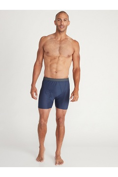 Men's Give-N-Go 2.0 Boxer Brief, Steel Onyx, medium