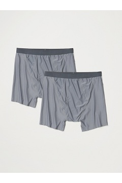 Men's Give-N-Go 2.0 Boxer Brief 2-Pack, Steel Onyx, medium