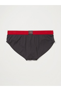 Men's Give-N-Go 2.0 Sport Mesh Brief, Black/Scarlet Sage, medium