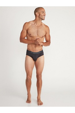 Men's Give-N-Go 2.0 Sport Mesh Brief, Steel Onyx/Black, medium