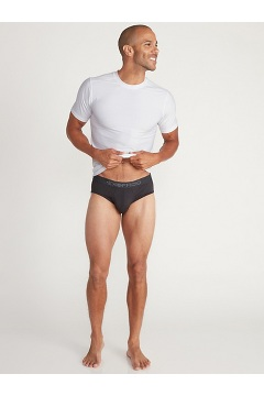 Men's Give-N-Go 2.0 Sport Mesh Brief, Navy/Koi, medium