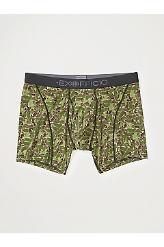 Men's Give-N-Go 2.0 Sport Mesh 6'' Boxer Brief, Fishing Camo, medium