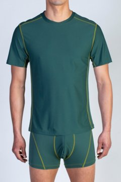 Give-N-Go Sport Mesh Crew, Petrol, medium