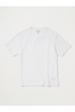 Men's Give-N-Go Crew Neck Tee, White, medium