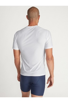 Men's Give-N-Go 2.0 Crew Neck Tee, White, medium