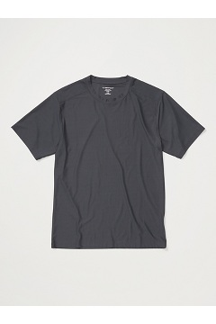 Men's Give-N-Go 2.0 Crew Neck Tee, Dark Steel, medium