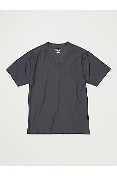 Men's Give-N-Go 2.0 V-Neck Tee, Dark Steel, medium