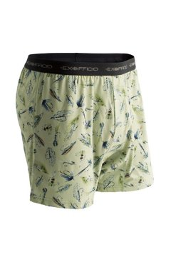Give-N-Go Printed Boxer, Marsh/Flys, medium