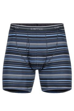 Sol Cool Print Boxer Brief, Black Multi Stripe, medium