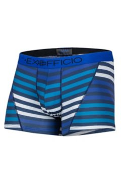 Give-N-Go Sport Mesh Print 3'' Boxer Brief, Navy Large Stripe, medium