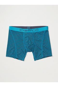 Men's Give-N-Go Sport Mesh Printed 6'' Boxer Brief, Navy Double Stripe, medium