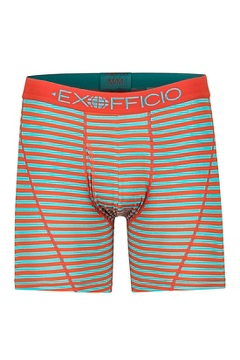Men's Give-N-Go Sport Mesh Printed 6'' Boxer Brief, Maui Double Stripe, medium
