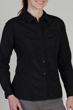 Percorsa L/S, Black, medium