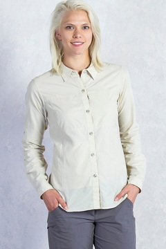 Women's Lightscape Long-Sleeve Shirt, Bone, medium