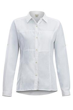 Women's Lightscape Long-Sleeve Shirt, White, medium
