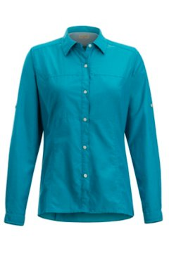 Lightscape LS Shirt, Algiers Blue, medium