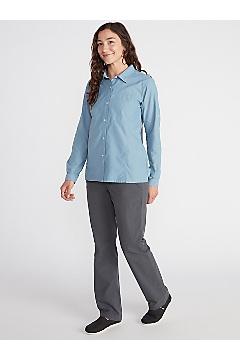Women's Lightscape Long-Sleeve Shirt, Lavender Aura, medium