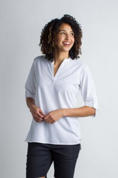 Kizmet 3/4 Sleeve, White, medium