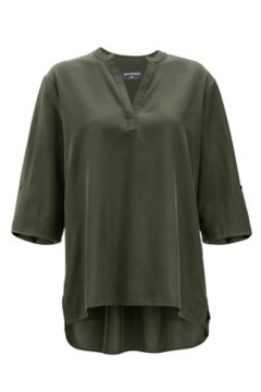 Kizmet 3/4 Sleeve Shirt, Nori, medium