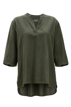 Kizmet 3/4 Sleeve Shirt, Nori, medium