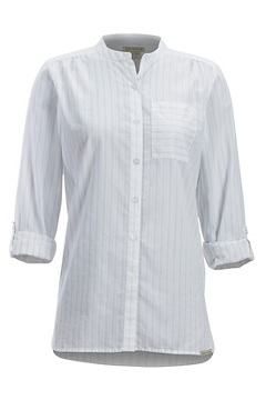 Lencia LS Shirt, White, medium