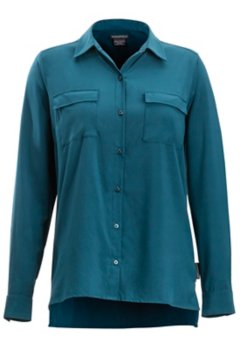 Kizmet LS Shirt, Adriatic, medium