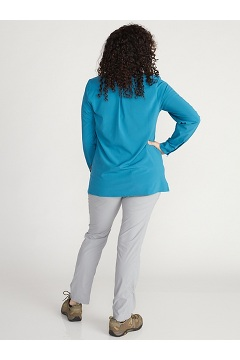 Women's Kizmet Long-Sleeve Shirt, Atlantic, medium