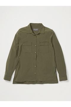 Women's Kizmet Long-Sleeve Shirt, Nori, medium